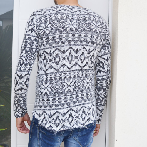 Pull homme Oversize
